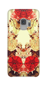 Blomstersymmetri cover Galaxy S9