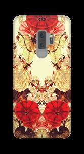 Blumensymmetrie Handyhülle Galaxy S9 Plus