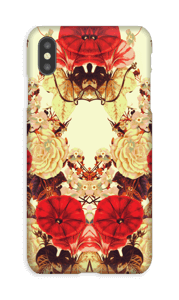 Blomstersymmetri cover IPhone XS Max