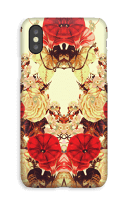 Blomstersymmetri cover IPhone XS