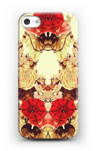 Blomstersymmetri cover IPhone 5/5S