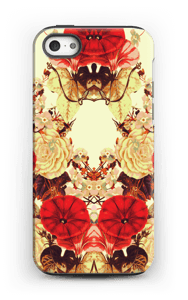 Blomstersymmetri cover IPhone 5/5s tough