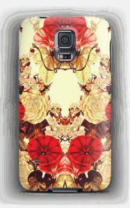 Blomstersymmetri cover Galaxy S5