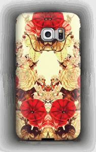 Blomstersymmetri cover Galaxy S6 Edge