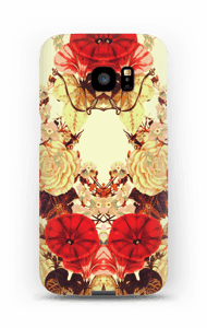 Blomstersymmetri cover Galaxy S7 Edge