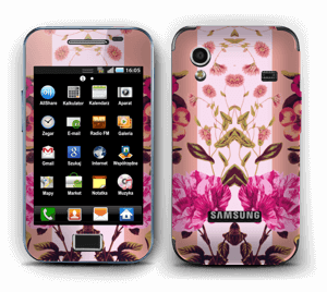 Flicker floral Skin Galaxy Ace