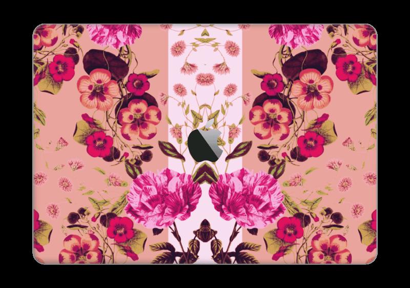 "Rosa blomster Skin MacBook Pro 13"" 2016-"