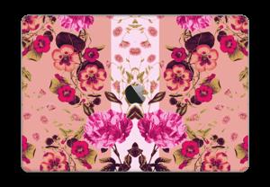 "Rosa blomster Skin MacBook Pro 15"" 2016-"