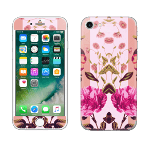 Rosa blomster Skin IPhone 7