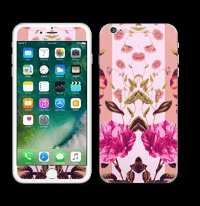 Rosa blomster Skin IPhone 6 Plus