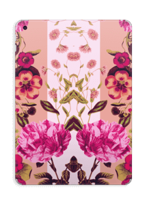 Pink floral skin IPad 2017