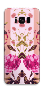 Rosa blomster Skin Galaxy S8