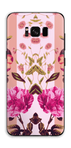 Lyserøde blomster Skin Galaxy S8 Plus