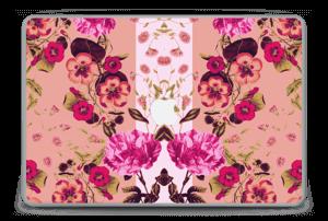 """Flores Rosas Vinilo  MacBook Pro 15"""" -2015"""