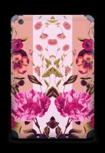 Rosa blomster Skin IPad mini 2 back