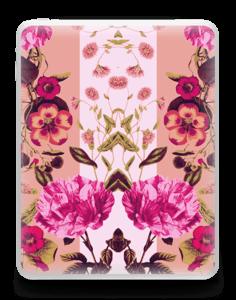 Rosa blomster Skin IPad 1