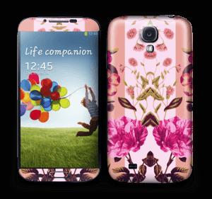 Flicker floral Skin Galaxy S4
