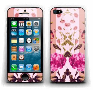 Roze bloemetjes Skin IPhone 5