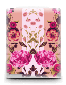 Rosa blomster Skin IPad 4/3/2