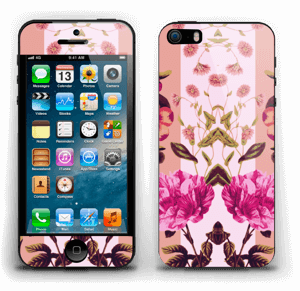 Rosa blomster Skin IPhone 5s