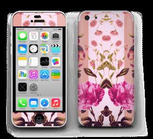 Rosa blomster Skin IPhone 5c