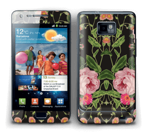 Blomster Skin Galaxy S2