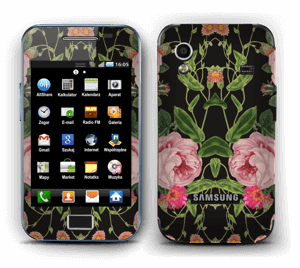 The floral tunes Skin Galaxy Ace