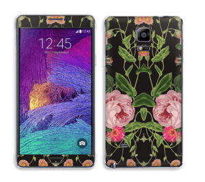 Blomster Skin Galaxy Note 4