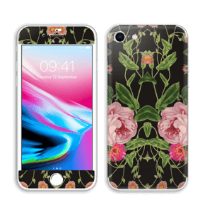 Floral tune skin IPhone 8