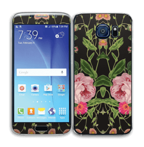 Blomster Skin Galaxy S6