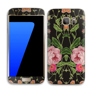 Blomster Skin Galaxy S7