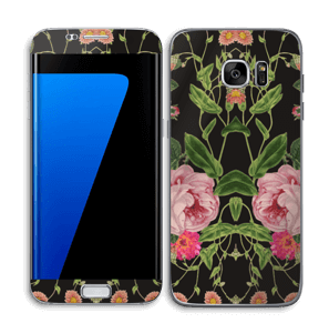 Blomster Skin Galaxy S7 Edge