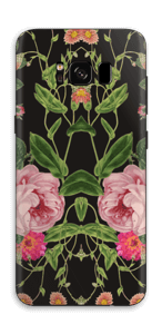 The floral tunes Skin Galaxy S8