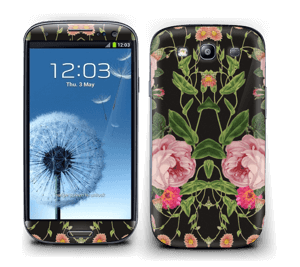 Blomster Skin Galaxy S3