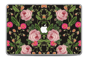"The floral tunes Skin MacBook Pro 17"" -2015"