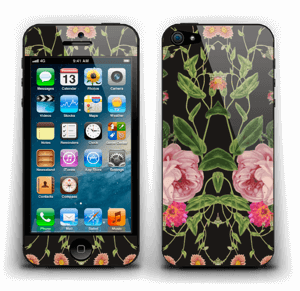 The floral tunes Skin IPhone 5