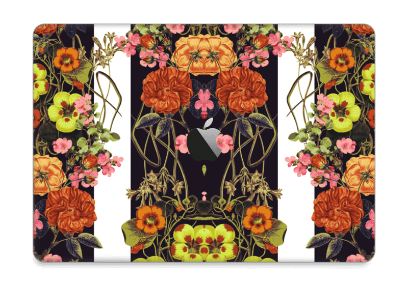 "Orange flora Skin MacBook Pro 13"" 2016-"