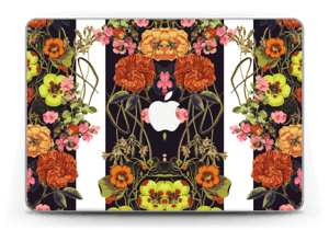 "Orange flora Skin MacBook Pro Retina 13"" 2015"