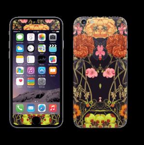 Orange floral crossing Skin IPhone 6/6s
