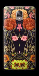 Orange flora Skin OnePlus 3