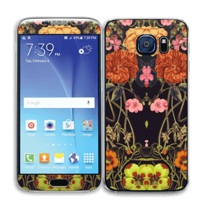 Eclosion orange Skin Galaxy S6