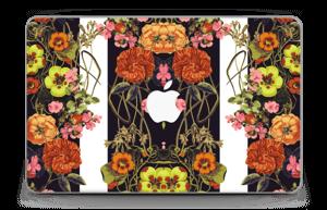 """Orange floral crossing Skin MacBook Air 11"""""""
