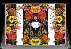"Orange flora Skin MacBook Pro 13"" -2015"