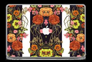 "Orange flora Skin MacBook Pro 17"" -2015"