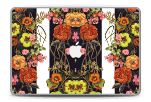 "Orange flora Skin MacBook Pro 15"" -2015"