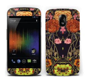 Orange floral crossing Skin Nexus