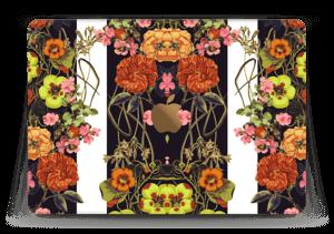 """Orange blomster Skin MacBook 12"""""""