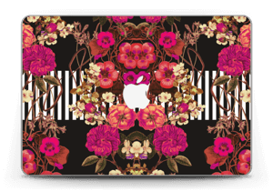 """Rosa Blumen Skin MacBook Pro Retina 13"""" 2015"""