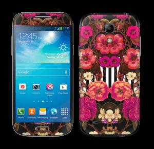 Rosa blomster Skin Galaxy S4 Mini