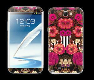 Epanouissement roses Skin Galaxy Note 2